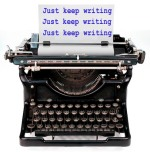 typewriter keep writing