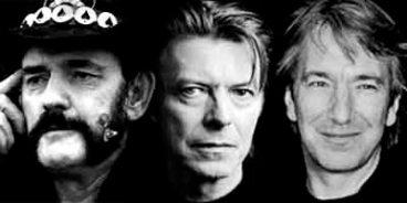 Lemmy Bowie Rickman