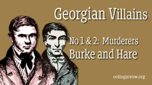 Georgian Villians No 1 and 2